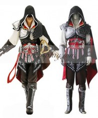 Assassin's Creed II Ezio Black Edition Cosplay Costume