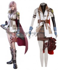 Final Fantasy XIII Lightning Cosplay Costume - EZCosplay Review