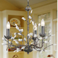 Modern Candle Featured Crystal Chandeliers_Coolicool