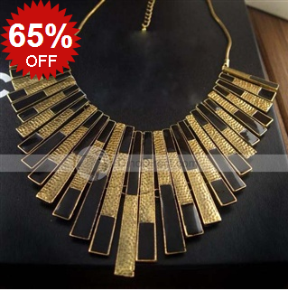 Moonlight Retro Gold Plated Necklace_DinoDirect