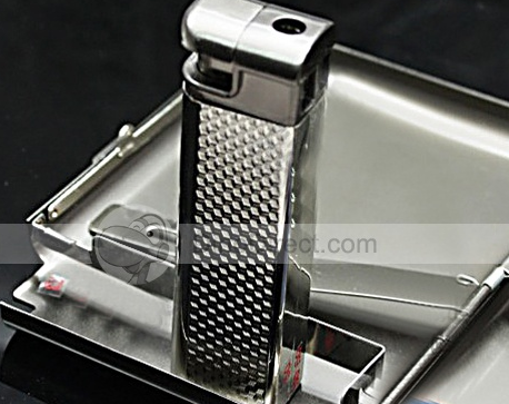 Pemrunup™ Men Fashion Lighter Cigarette Case