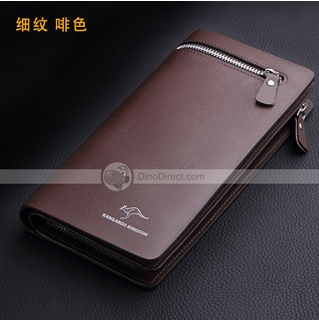 Kangaroo authentic wallets leather men's wallets wallet purse men's wallet leather cell phone bag