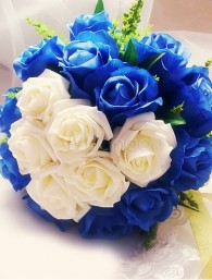 Luxurious Heart Artificial Flowers Bouquet
