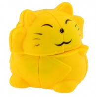 YJ Zhaocai Cat Lucky Cat Speed Cube Puzzle Toy - Read our LighTake Review!