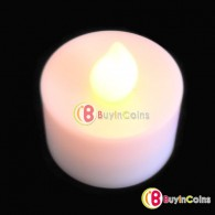 LED Electronic Candlelight Wedding Party Candle Yellow