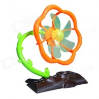Plum Blossom Tree Style 5-Blade 2-Mode USB Fan