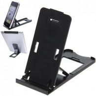 Multipurpose Desk Plastic Adjustable Holder Stand for iPad Mini, The New iPad 3rd, iPad 2