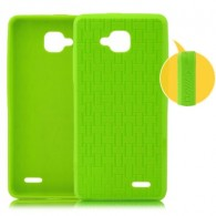 Protective Silicone Back Cover for Jiayu G3 Smart Phone