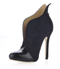 Suede Stiletto Heel Ankle Boots Party