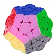Da Yan Megaminx Dodecahedron Speed Cube with Corner Ridges