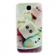 Lovely Cotton Candy Pattern Hard Case for Samsung Galaxy S4 I