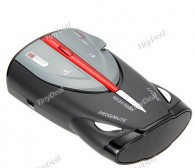 360 Degree Time & Speed LCD Display Digital Radar Laser Detector