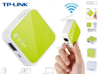 150Mbps Mini Portable WiFi Wireless Router - White CBW-88383