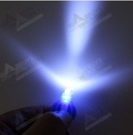 22000mcd Bright White LED Keychain Flashlights