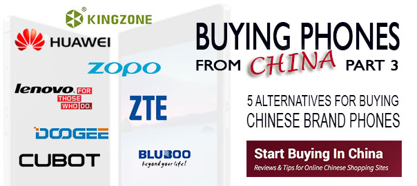 ALternatives for buying phones from CHina