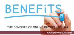 benefits of online buying in china