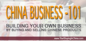 Building a business with Chinese products