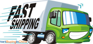 fast shipping from China
