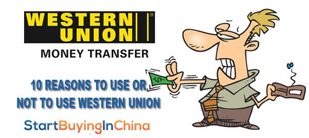 10 reasons not use western union
