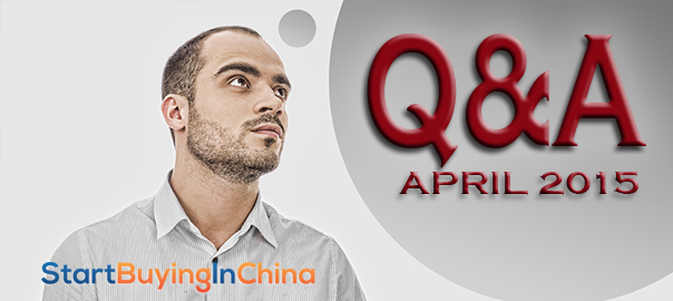 User Questions and Answers – April 2015