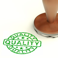 Quality Stamp Showing Excellent Product