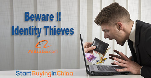 Beware Identity Thieves - Fake products on Alibaba