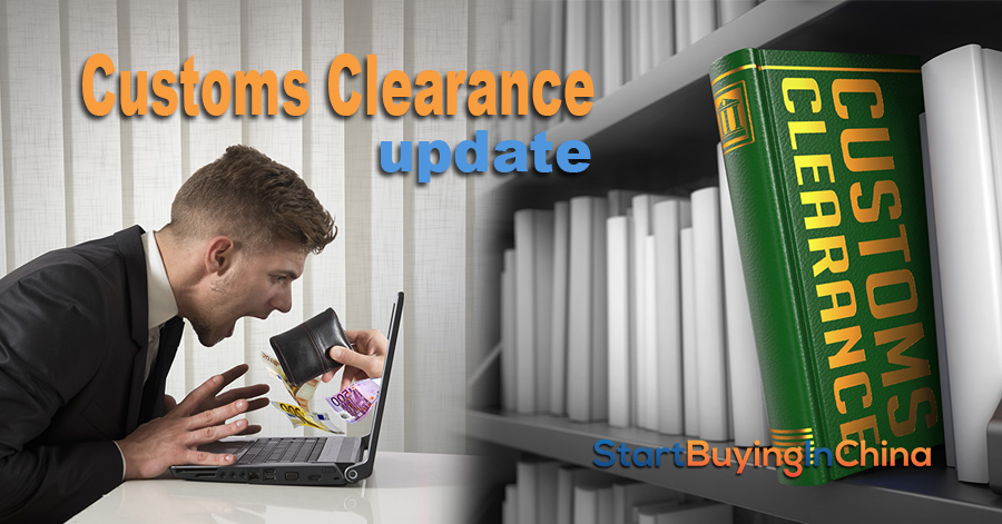 customs clearance update