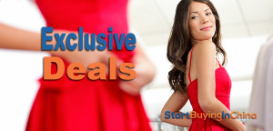 exclusive deals for StartBuyingInChina