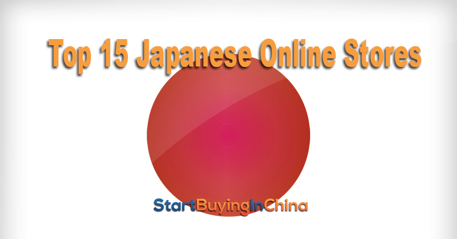 Top 15 – Japanese Online Stores