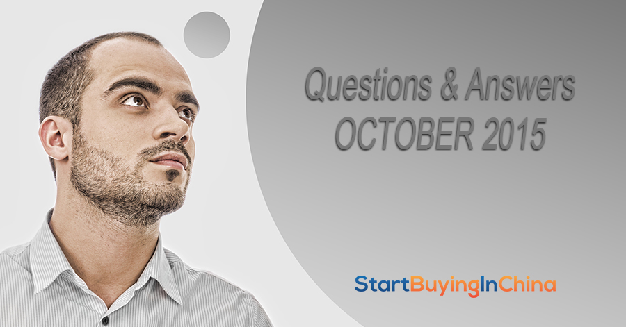 User Questions and Answers – October