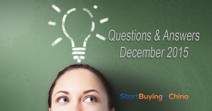 User questions and answers december