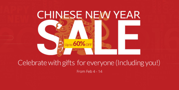 AliExpress Chinese New Year Sale 2016