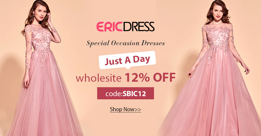 12% Off over $ 49 at EricDress